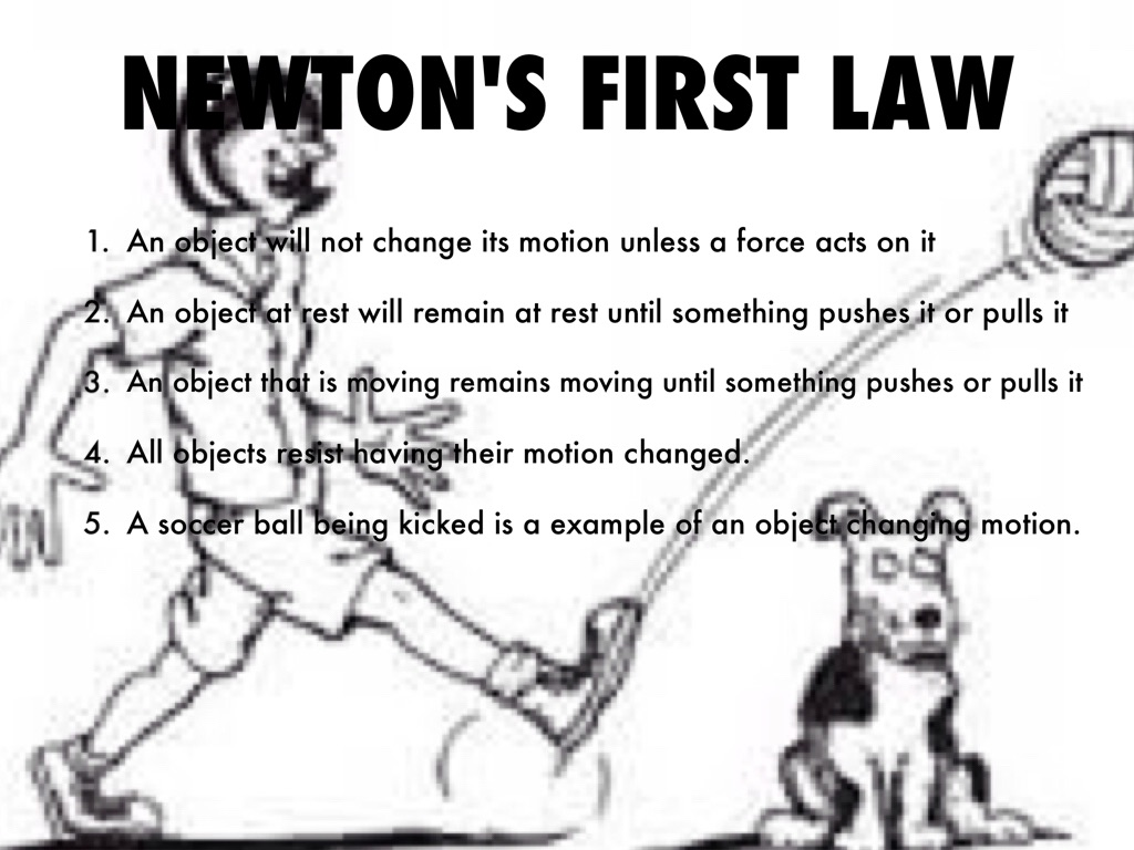 Newton S Laws Project By Michael Singletary