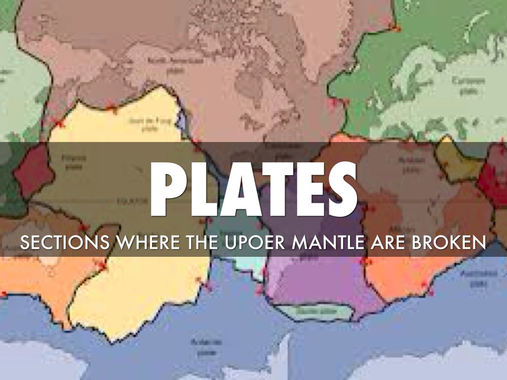 Plate Tectonics Vocabulary By Dejahpalmer