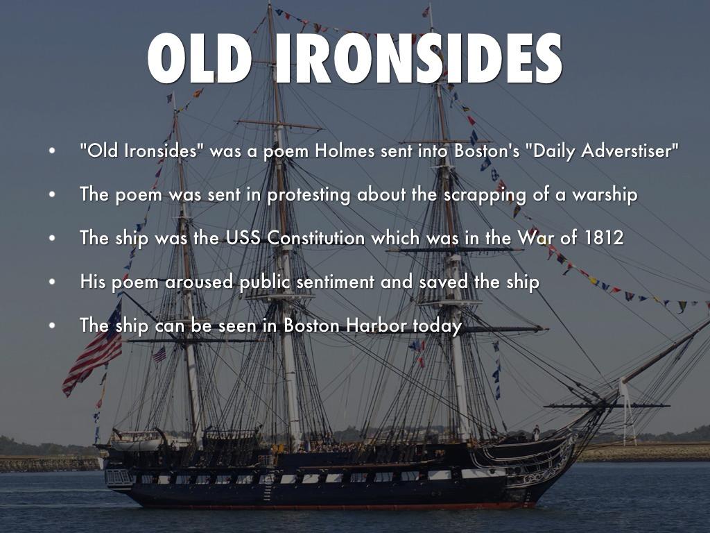 old ironsides poem theme