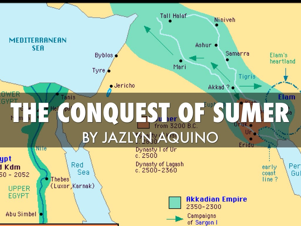 The Conquest Of Sumer By J Aquino