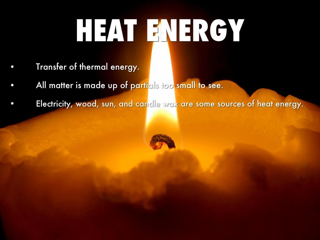 Heat Energy By Erica Wood