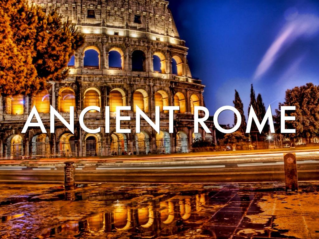Ancient Rome By Lixsiana Velazquez