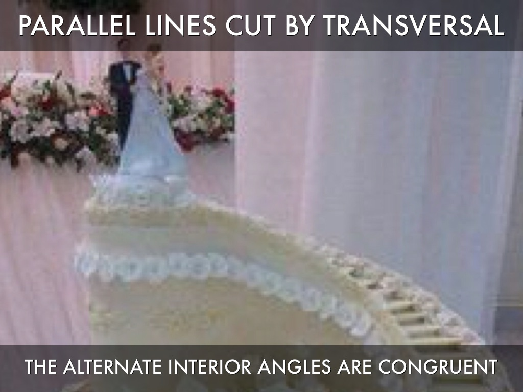 Alternate Interior Angles Parallel Lines