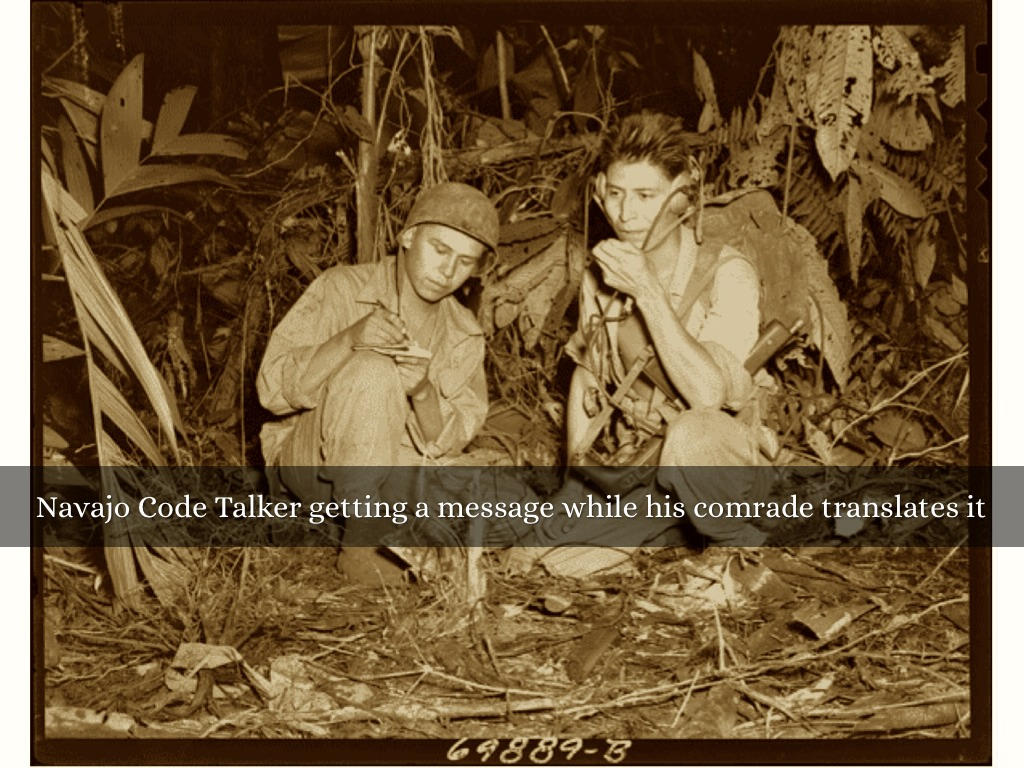 Navajo Code Talkers By Jacob Terry