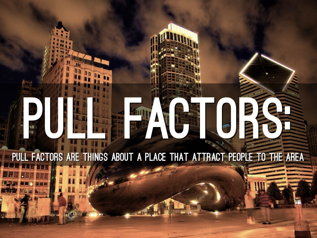 Push And Pull Factors By Blake Phillips