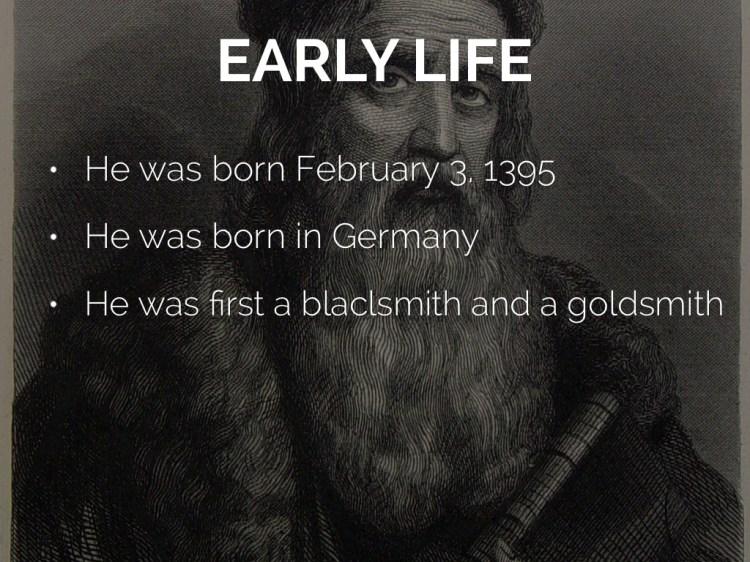 Johannes Gutenberg by Davis VG