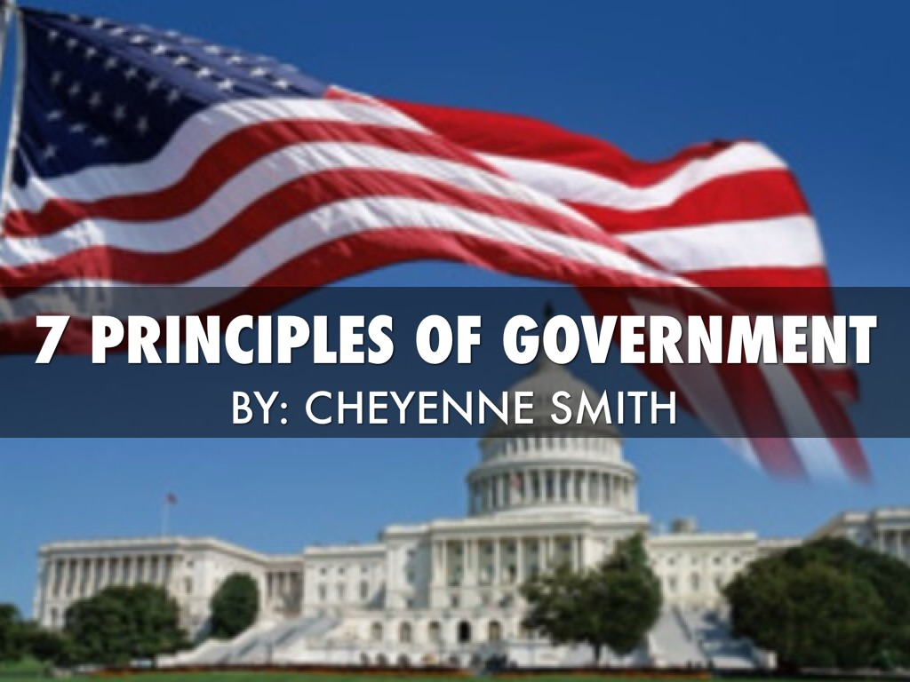 7 Principles Of Government By Cheyenne Smith