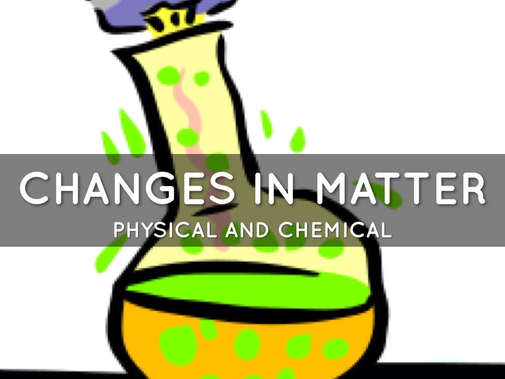 Matter Changes By Beechwood Student