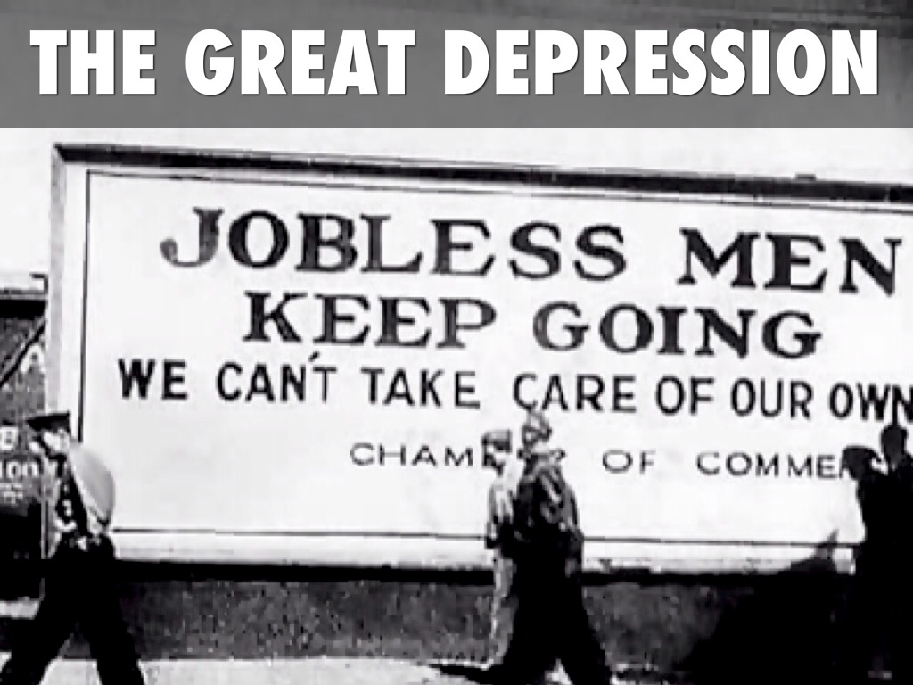 The Great Depression By Megan Smith