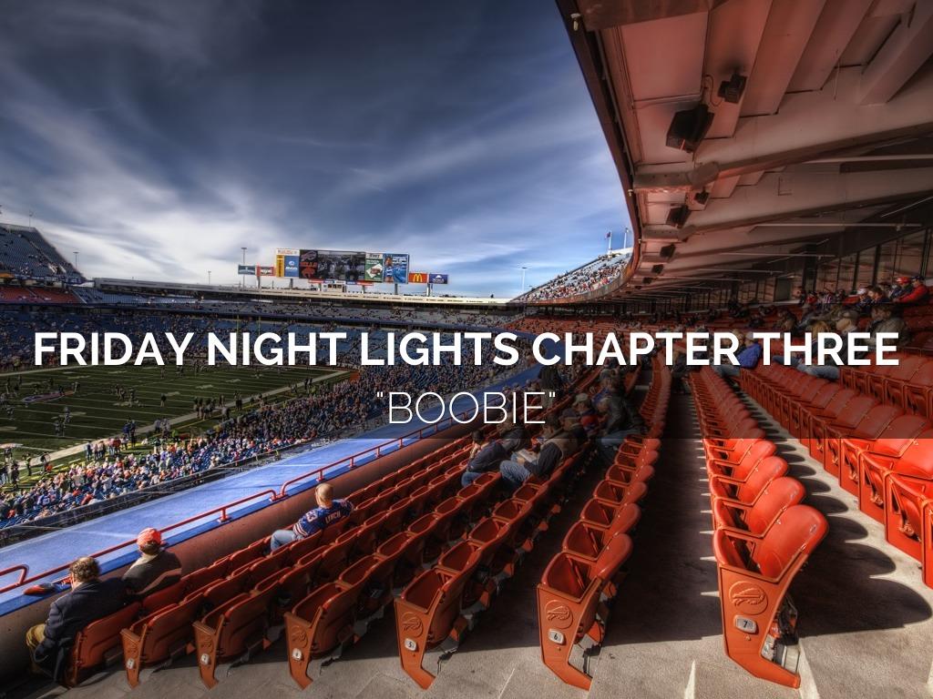 Friday Night Lights Chapter Summaries