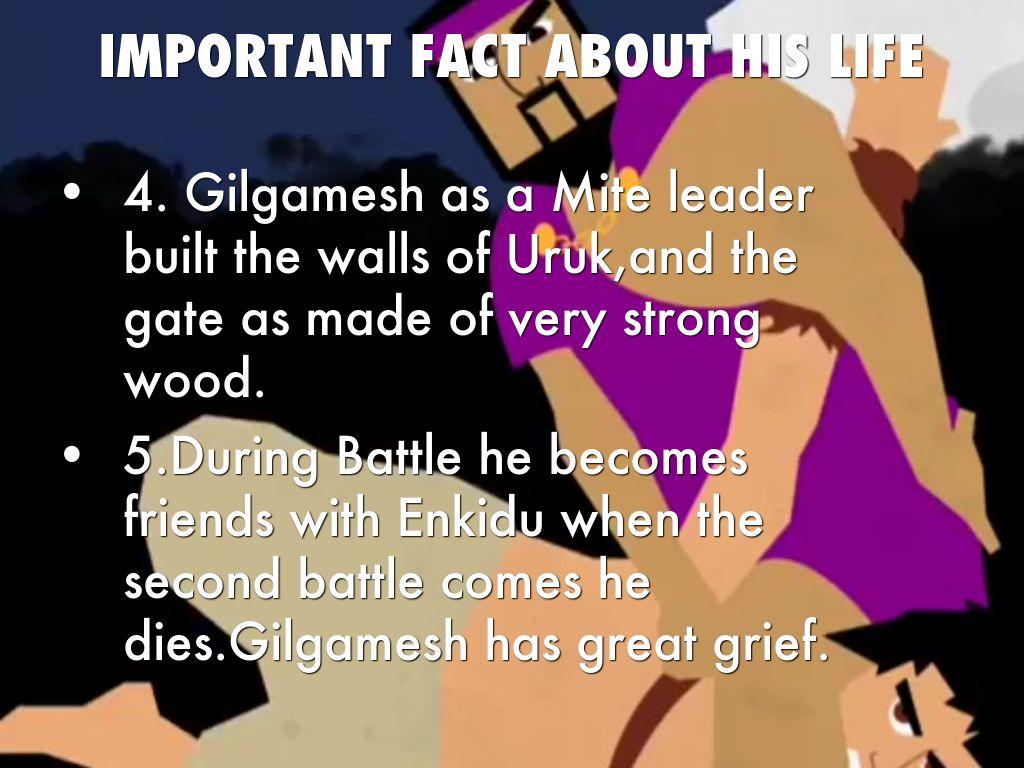 Epic Of Gilgamesh By Ada Burnett