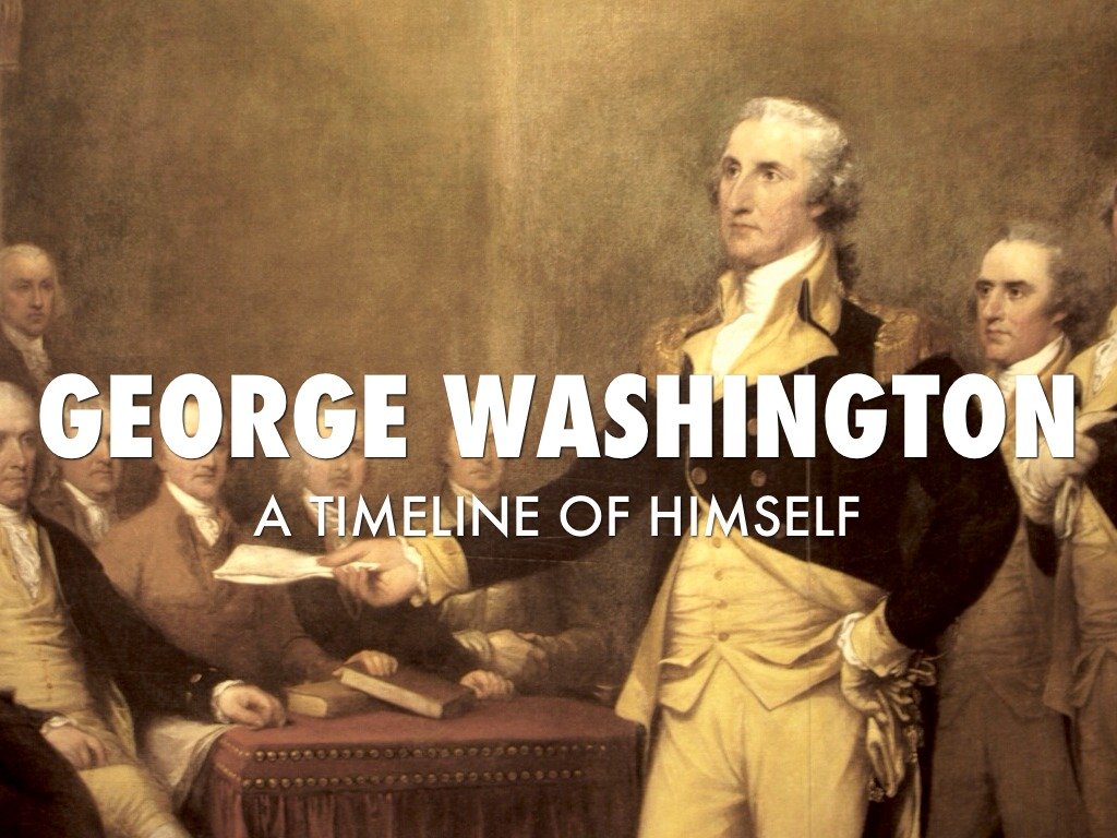 A Timeline Of George Washington S Life By Angie