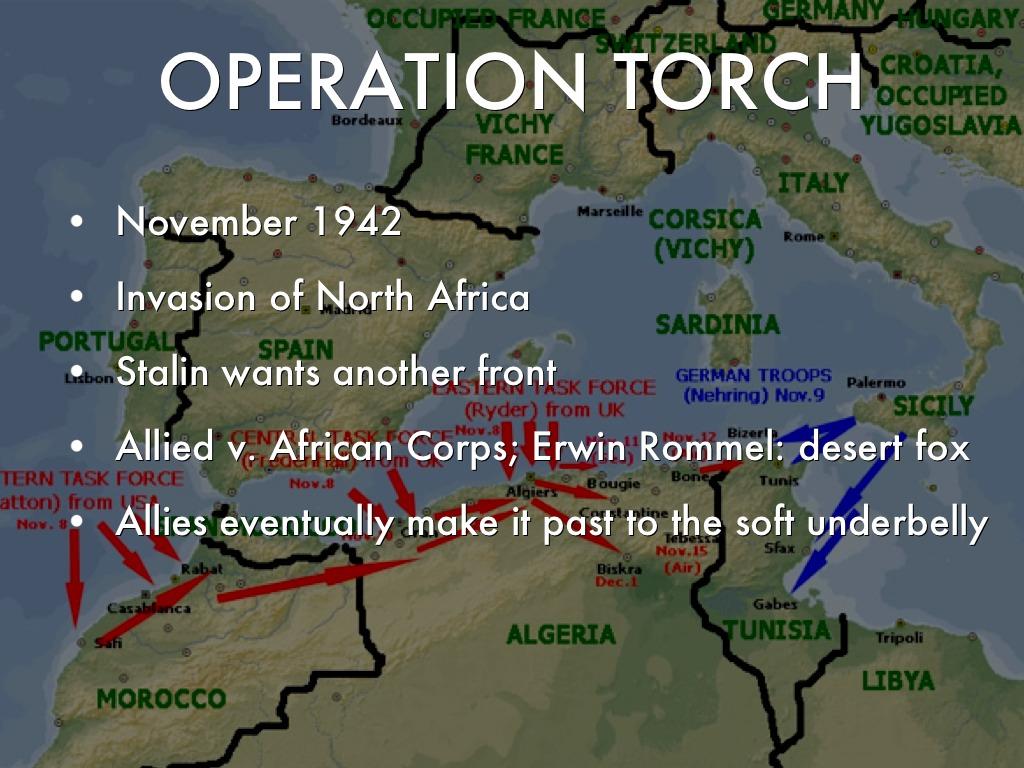 Allied Invasion North Africa