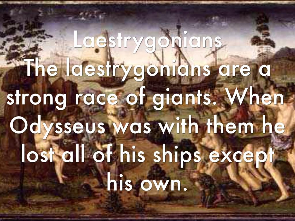 Location Odyssey Laestrygonians