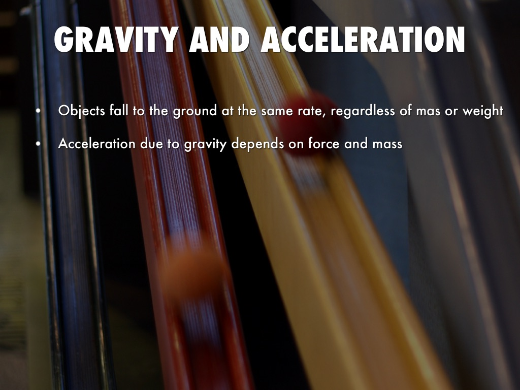 Gravity And Motion By Caleb Tessitore