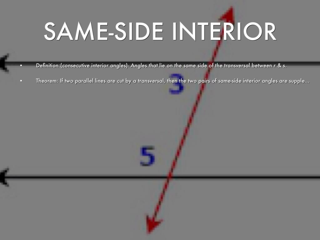 Interior Angles Definition