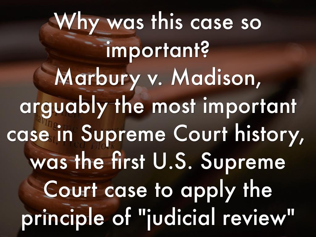 Marbury V Madison By Tillie Wagner