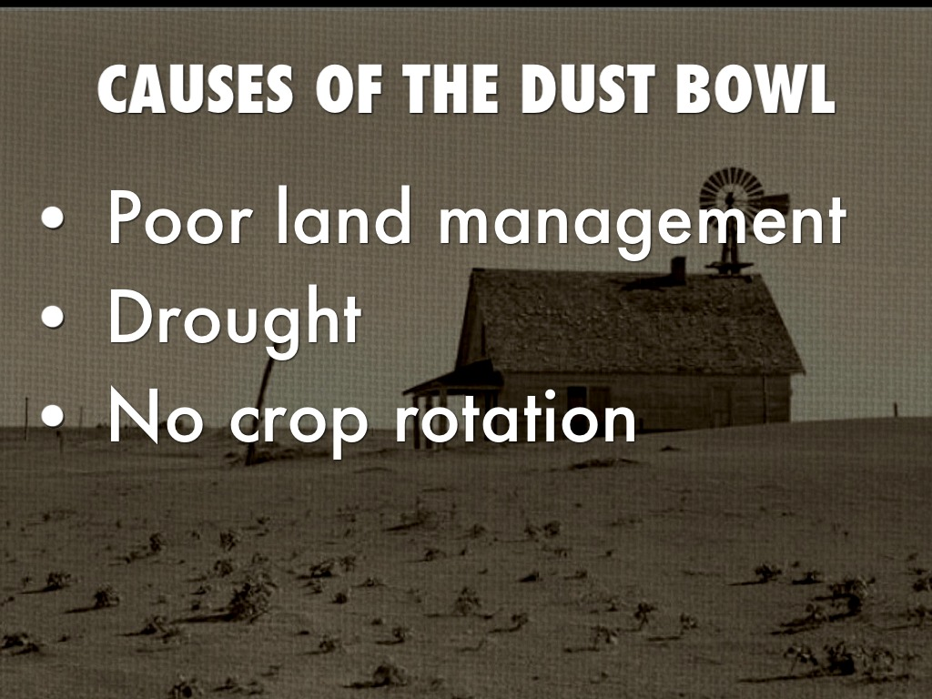 Packet What Caused Dust Bowl