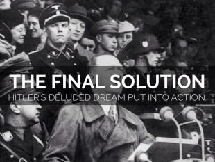 Image result for Hitler's Final Solution