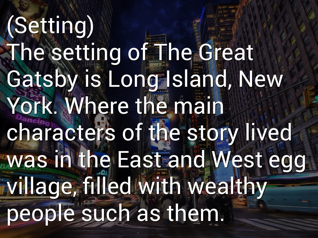 East Quotes West Egg Egg