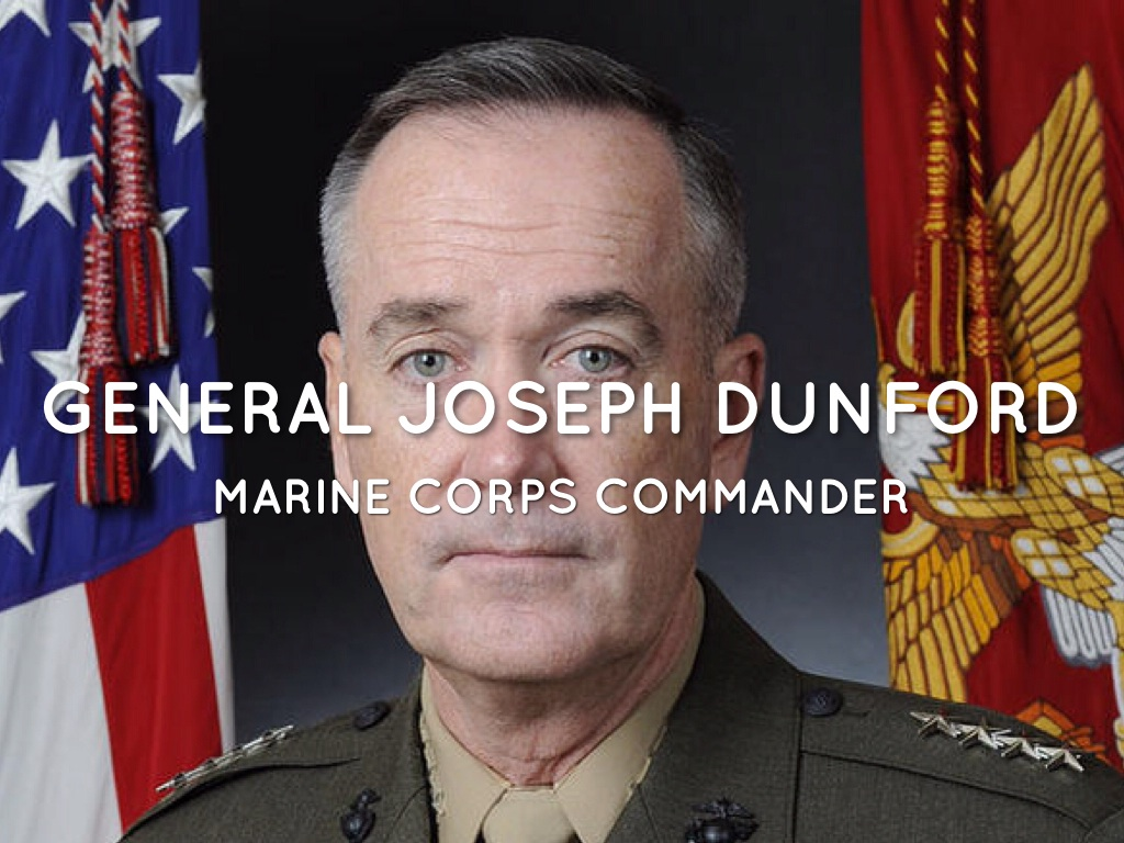 General Joseph Dunford By Anna Fisher