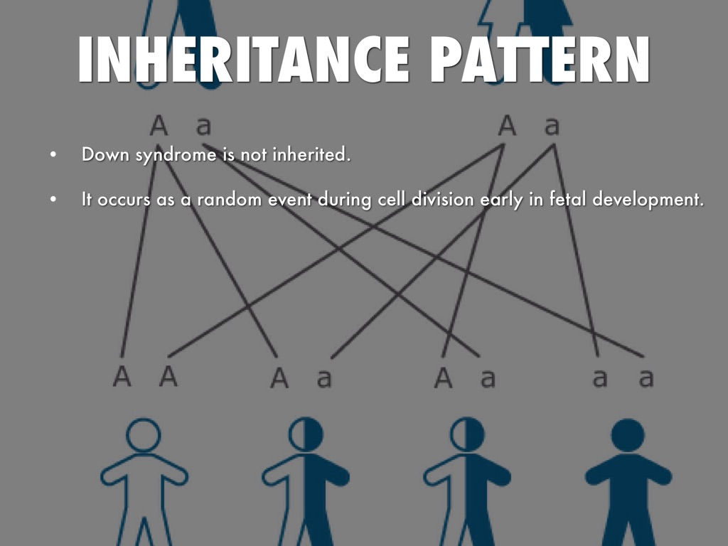 Down Syndrome Inheritance Pattern
