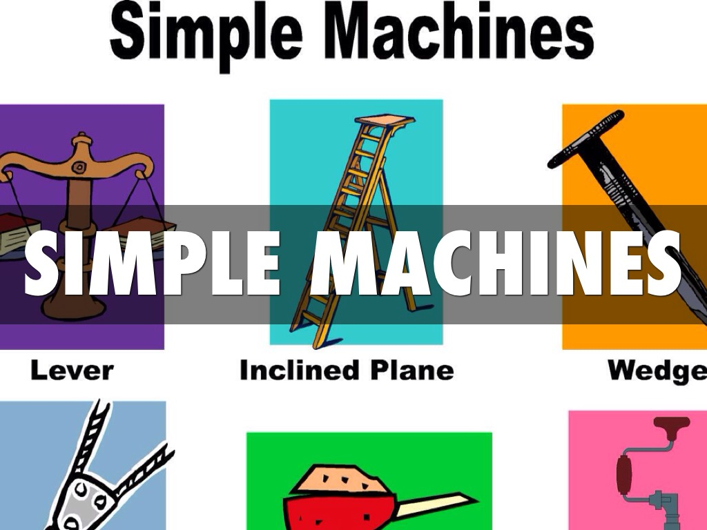 Simple Machines By Joshua Stradford