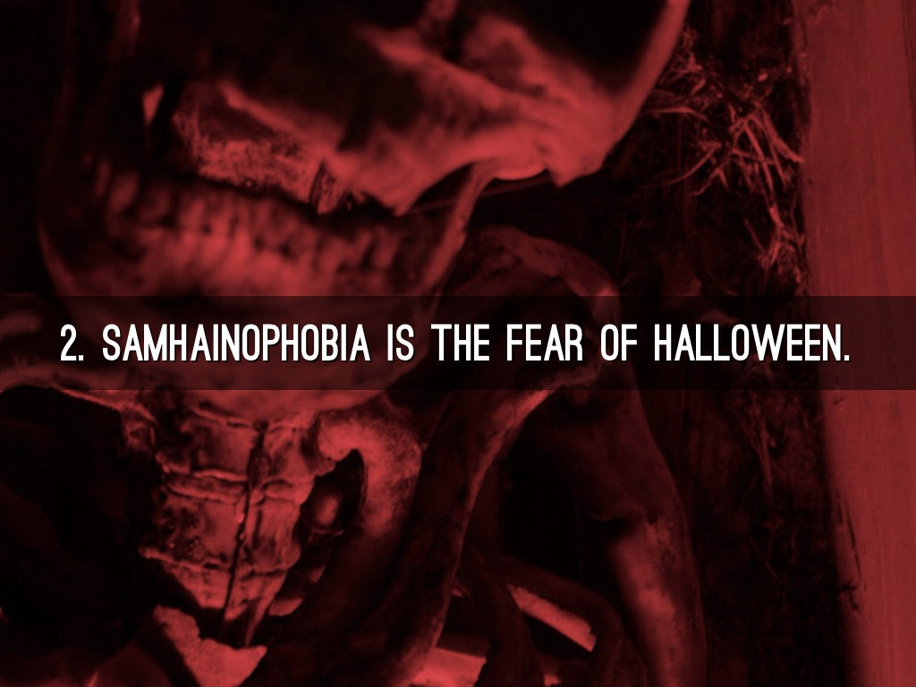 the fear of halloween is known as samhainophobia | frameimage