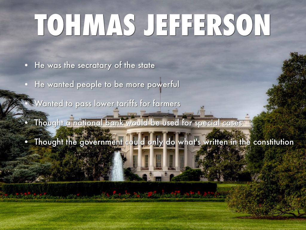 Hamilton Vs Jefferson By Molly Harvey
