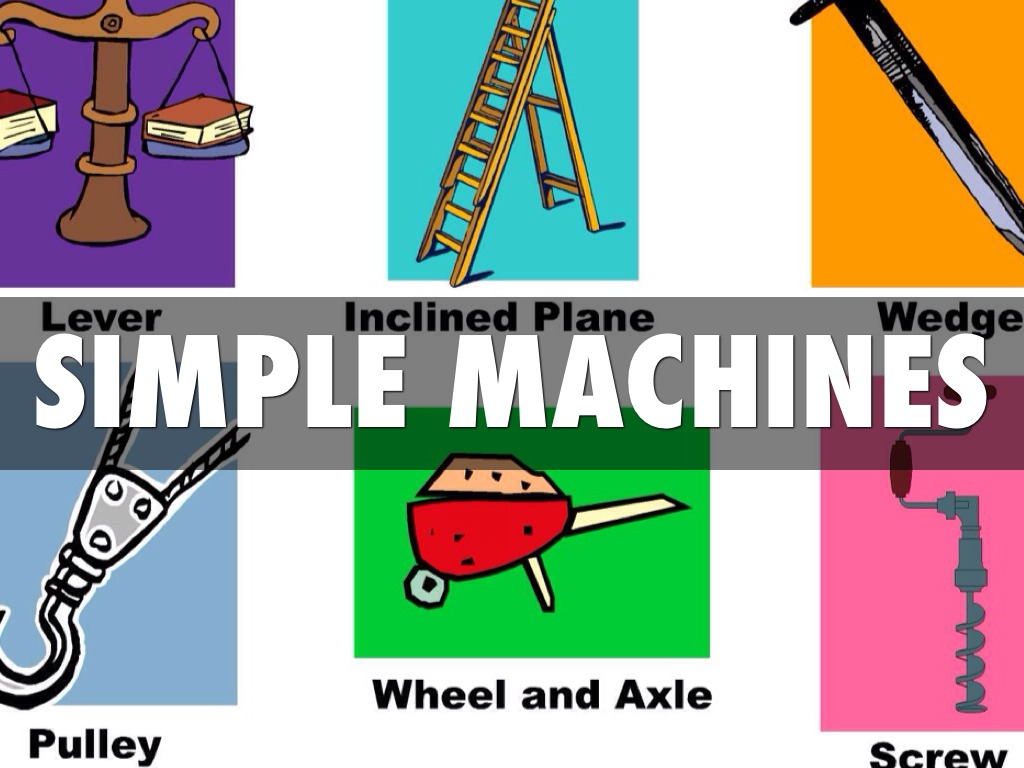 Simple Machines By Jordan Thurmond