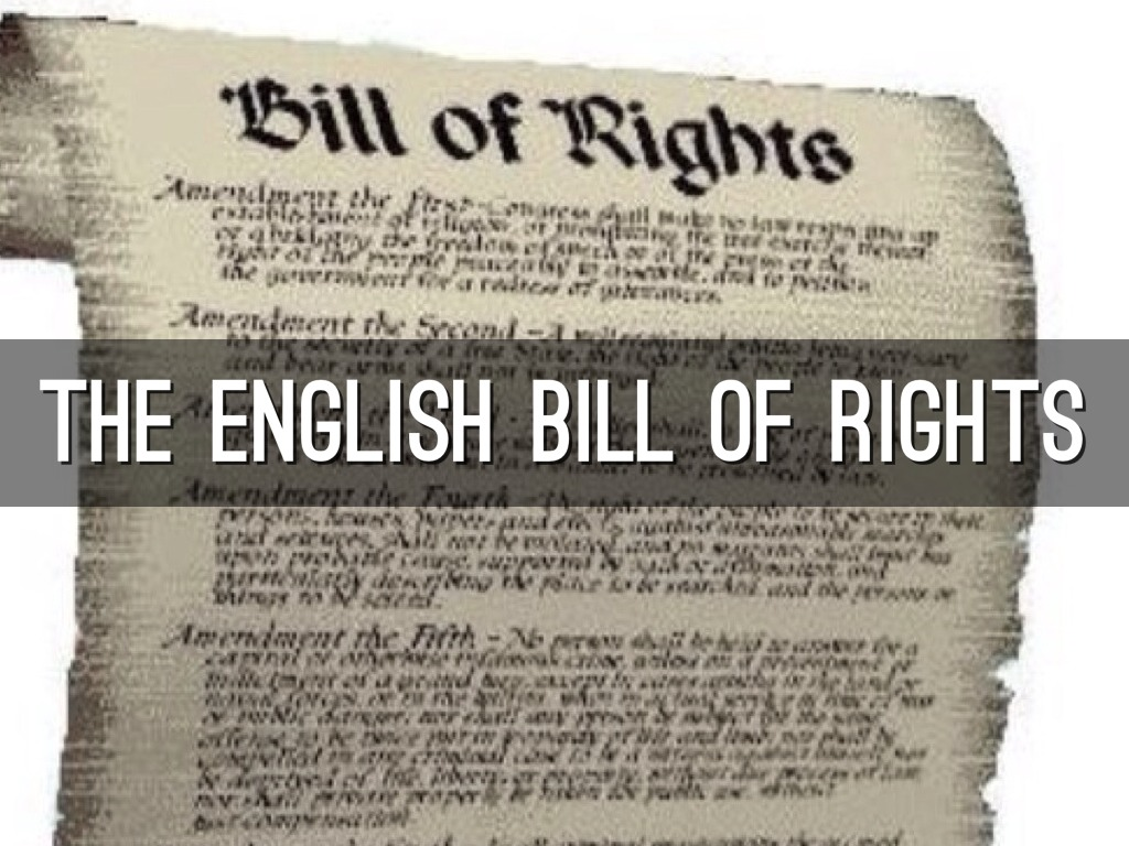 The English Bill Of Rights By Apadron