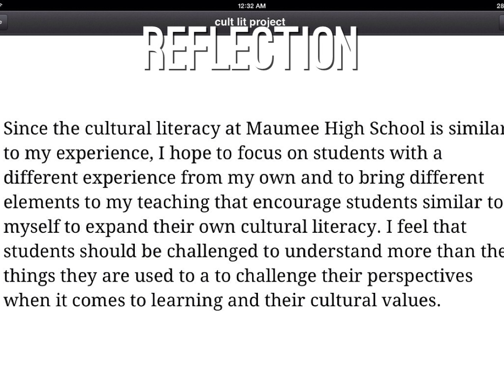 Maumee High School By Liz Robertson
