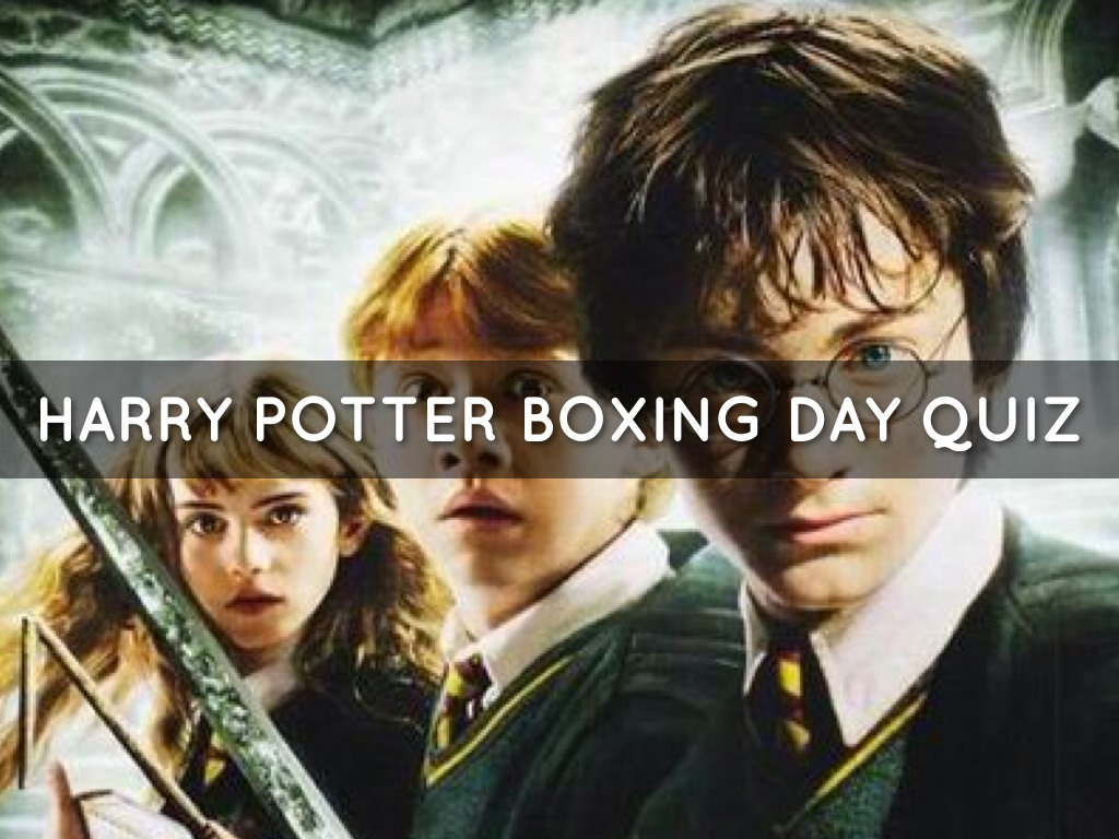 Harry Potter Quiz By Leah Bower