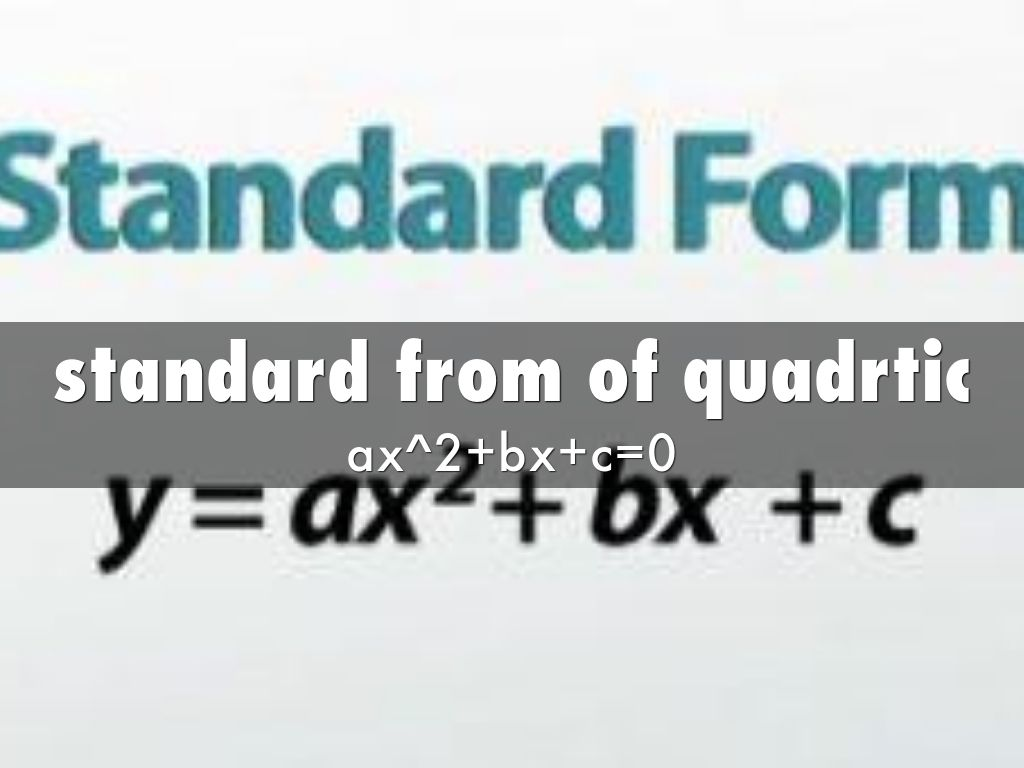 Quadratic Functions By