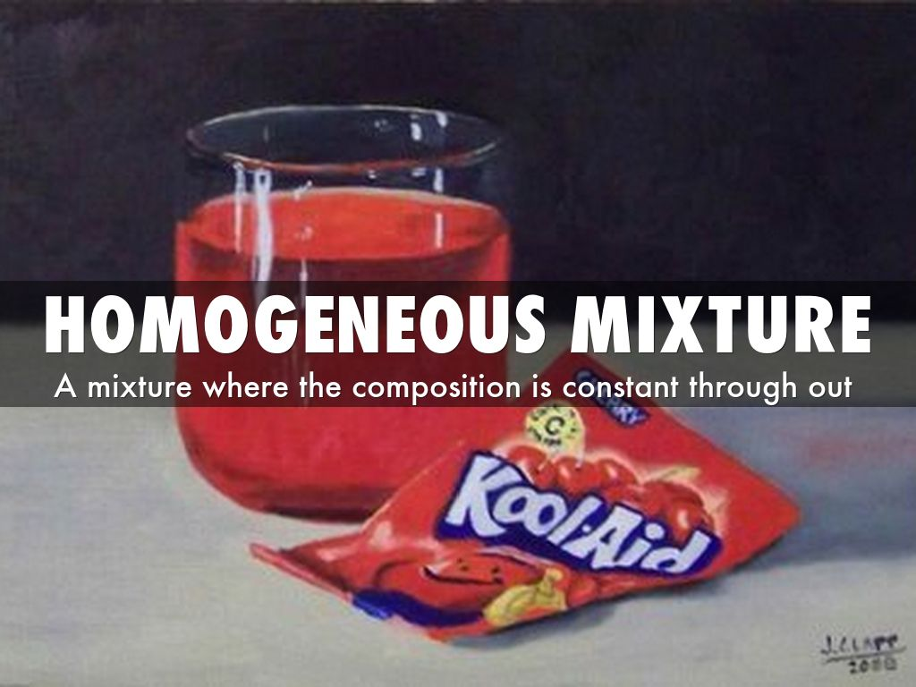 Homogeneous Mixture By Ahmeabdi