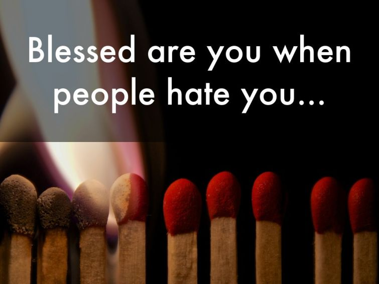 Image result for blessed when people hate you
