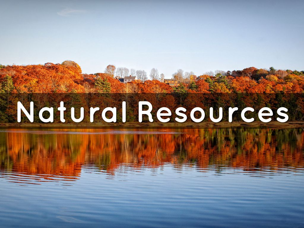 Natural Resources By Frank Garcia