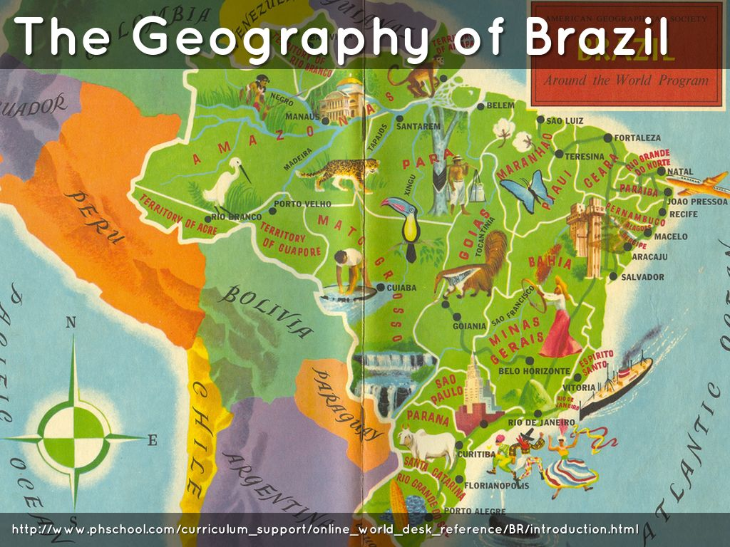Chapter 6 Section 1 Brazil Geography Shapes A Nation