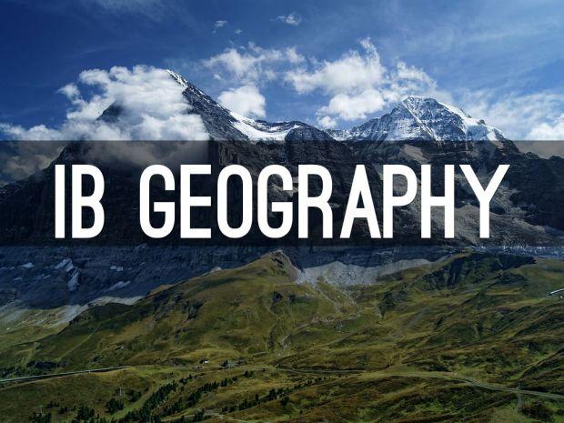 ib diploma programe geography