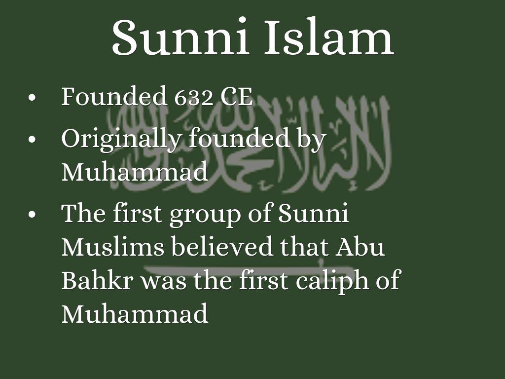 Sunni Islam By Mandujanovincent