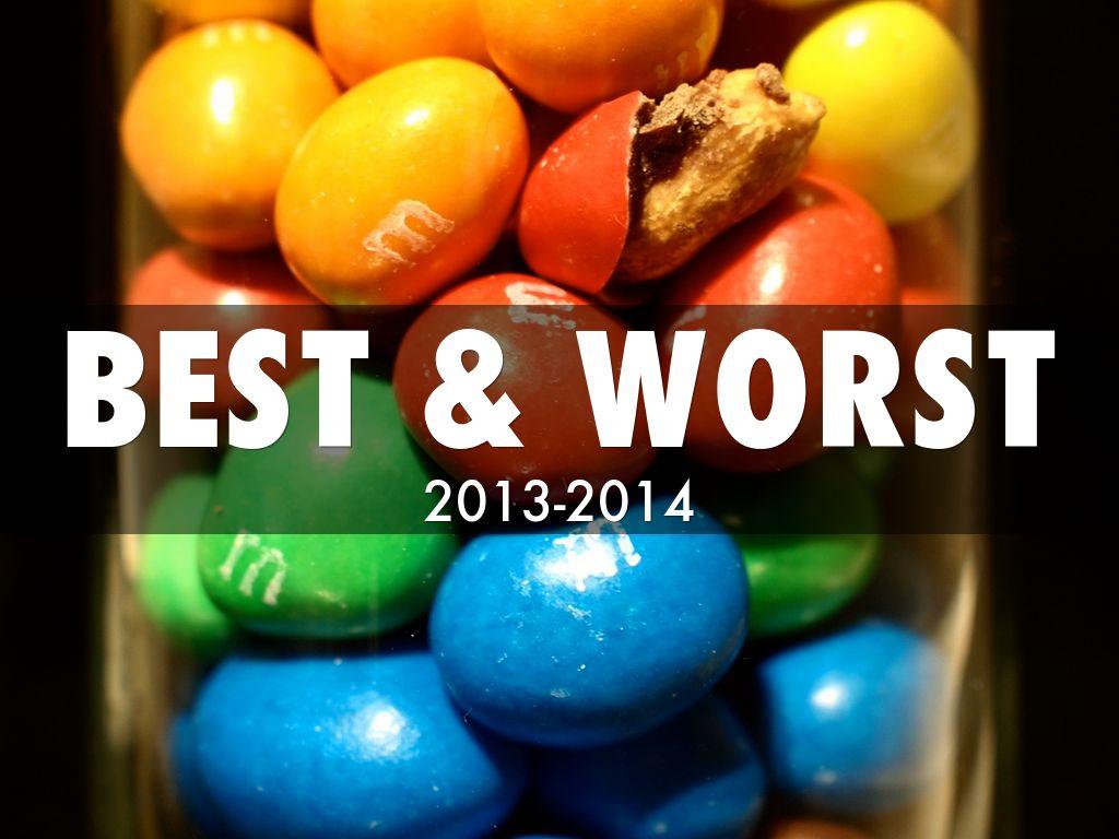 Best Amp Worst By Sara Leduc