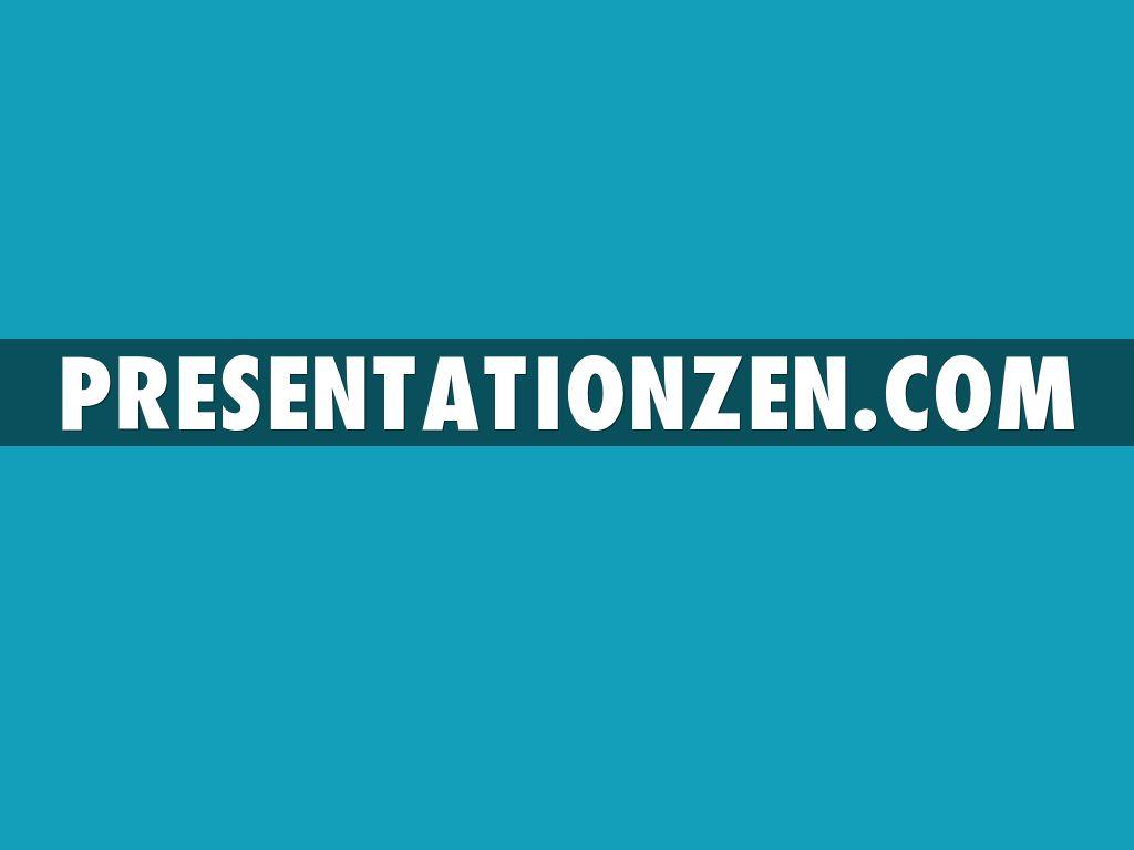 Examples Zen Slides Presentation