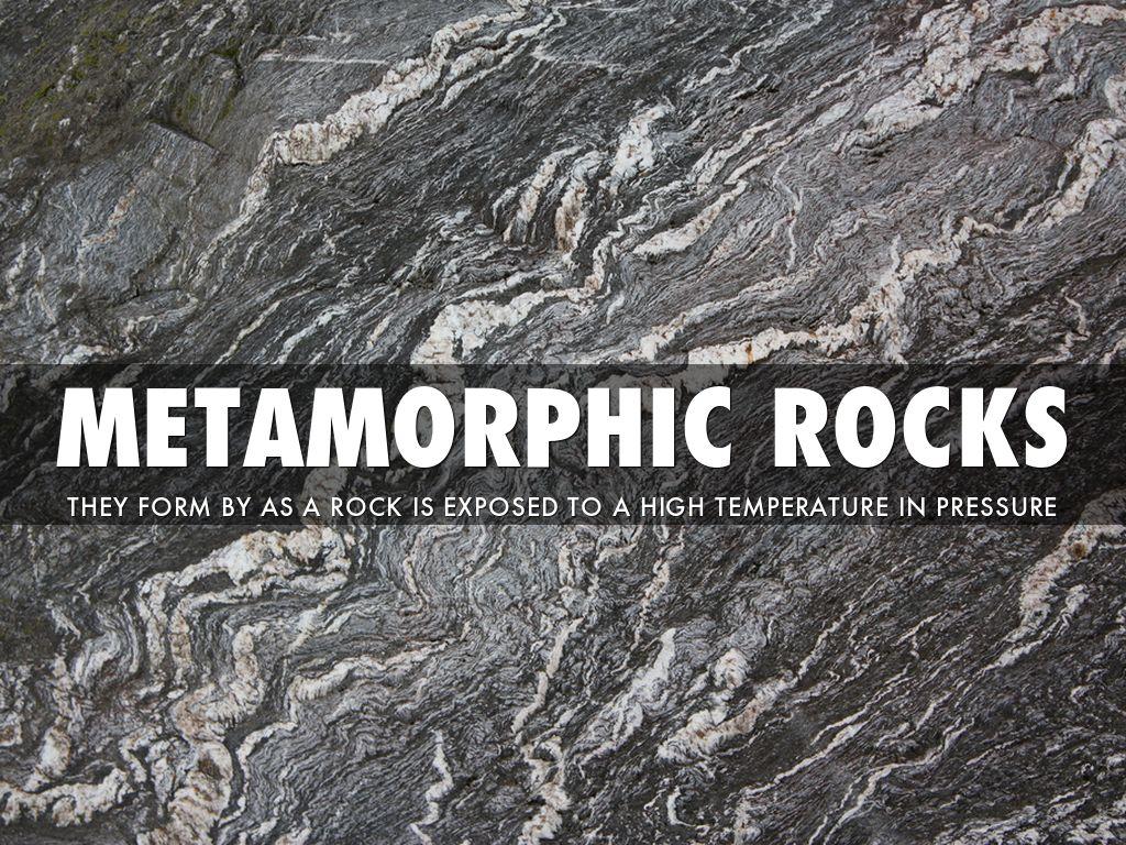 3 Types Of Rocks By Jorden Brown