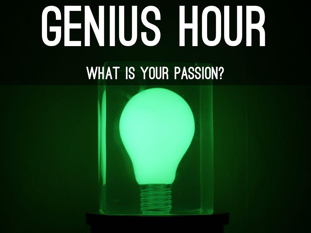 Genius Hour By Jessica Lostaunau