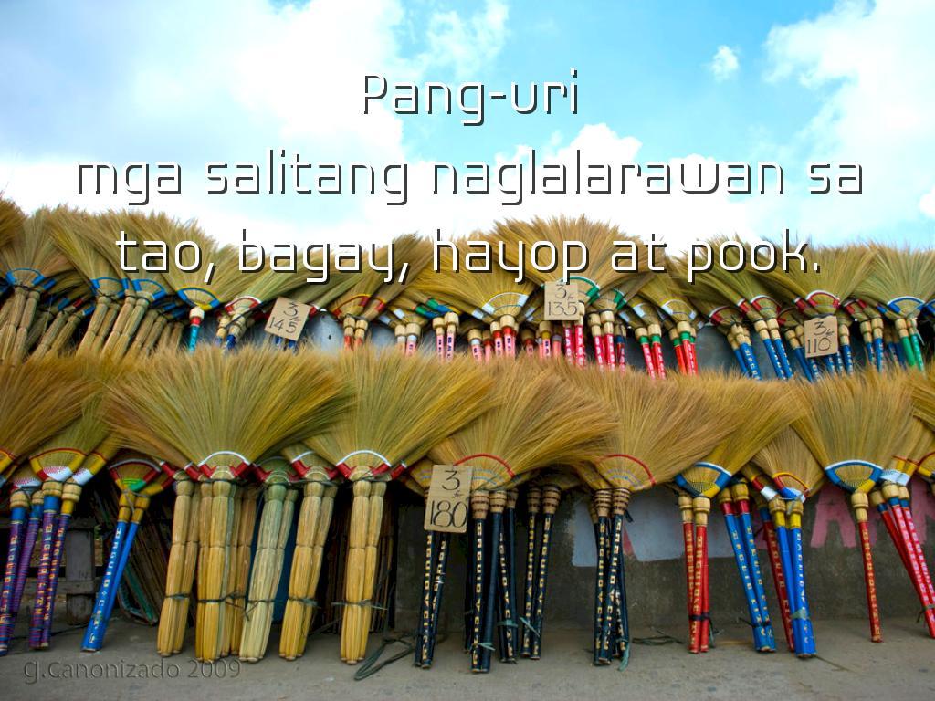 Kayarian Ng Pang Uri By Anne Jardin