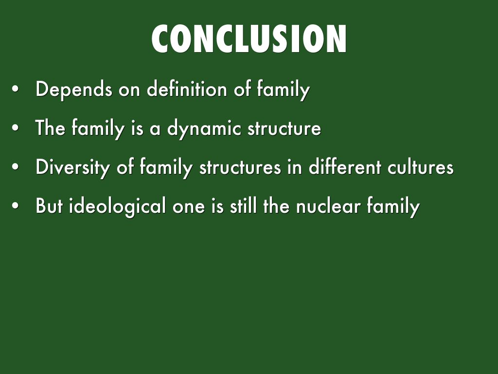 Is The Nuclear Family Universal By Lhj964