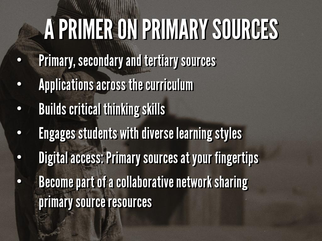 Elsd Connect Primary Sources Connecting History To