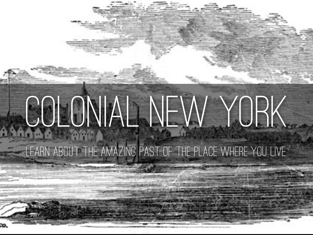New York Colony By Stefanos Salas