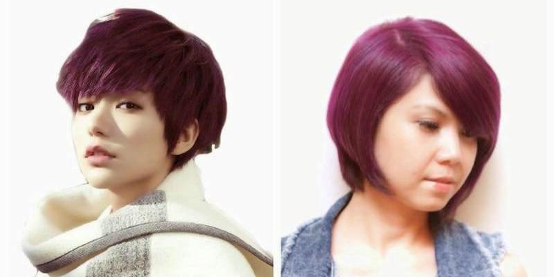 2014春夏流行關鍵髮色-【羅蘭紫】