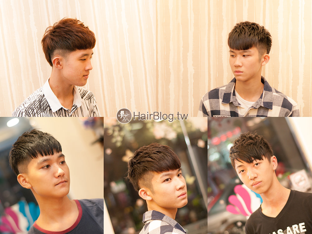 2017男士流行髮型作品